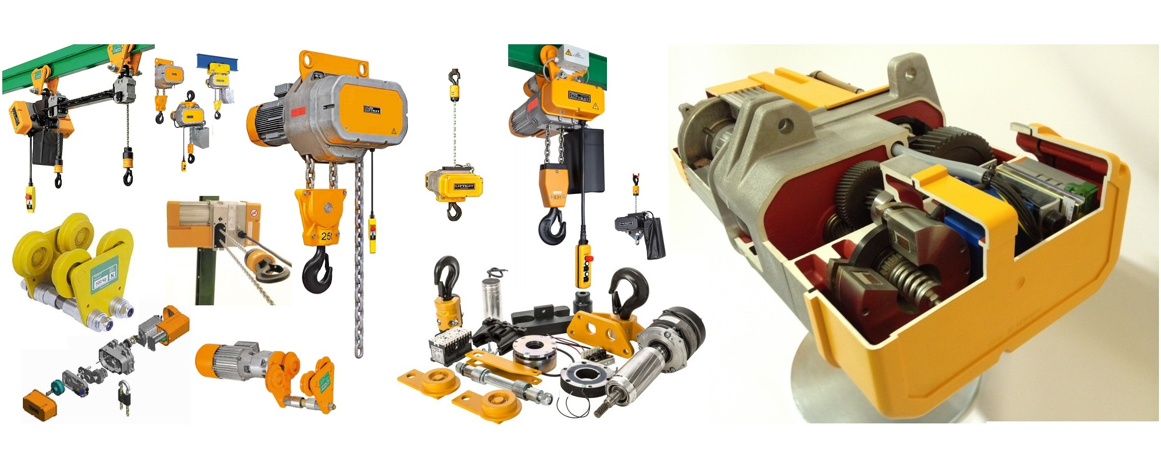 Electric Chain Hoist LIFTKET Maid in Germany